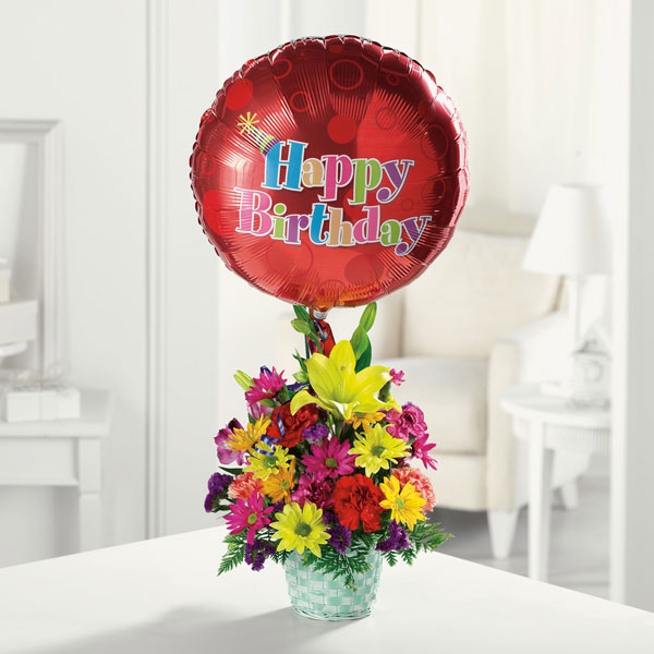 Happy Birthday Basket Smiths Flowers