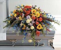 Mixed Spring Casket Spray